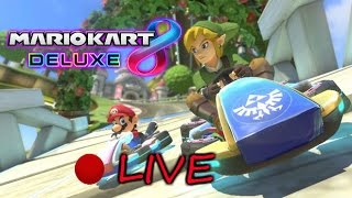 🔴 THE LEGEND OF LINK: LEARNING TO DRIVE | MARIO KART 8 DELUXE