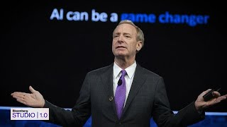 Microsoft President Brad Smith on 'Bloomberg Studio 1.0'