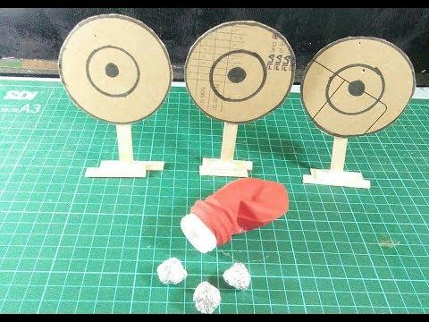 Cara membuat senjata dari balon/senjata saku