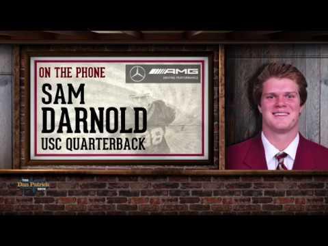 Sam Darnold Talks Draft Process, His Family & More w Dan Patrick   Full Interview   4/23/18