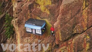 Grab A Jacket 300 Feet In The Air With This Cliffside Pop-Up Shop Mp3
