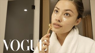 Morgan Alison Stewart's Skin Secrets to Prep for Modeling in Photoshoots | Beauty Tips