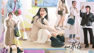 일주일 개강룩! 봄맞이 데일리룩 (feat.PUMA) …