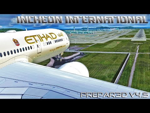 FSX [HD] - Air France ERJ 175 | Approach to Ajaccio Napoleon