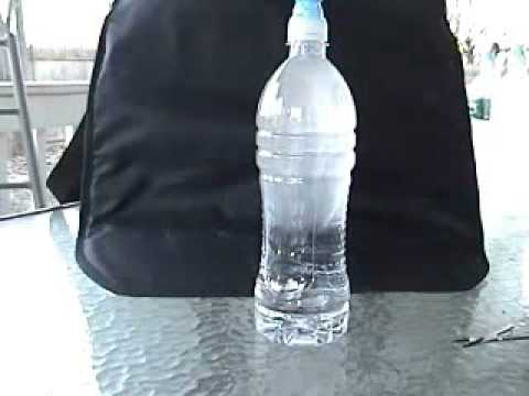 Моментальное замерзание воды