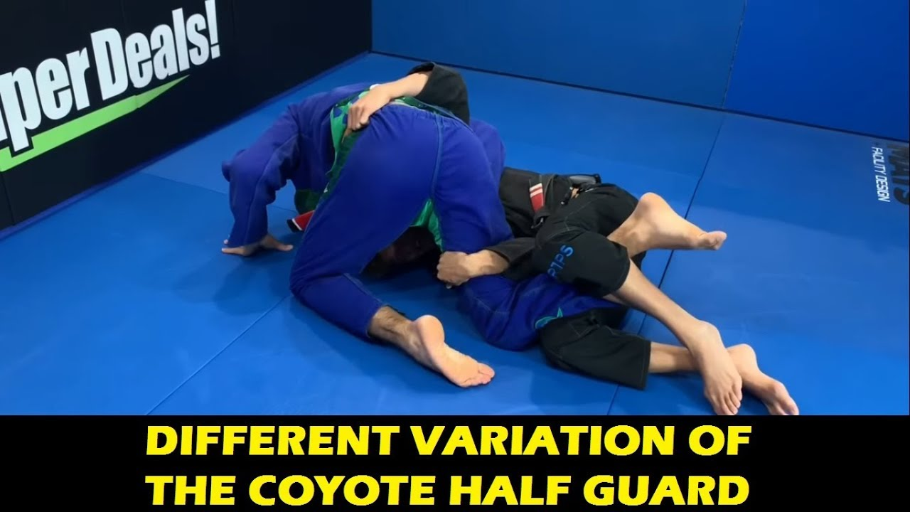 Different Variation Of The Coyote Half Guard Sweep by Alexandre Vieira