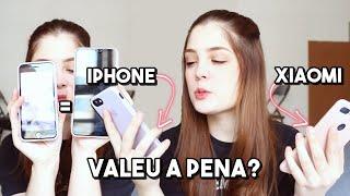 PORQUE EU TROQUEI O XIAOMI PELO IPHONE 8 (dicas pra quem quer comprar iphone) | Bruna TV