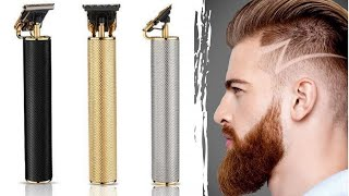 2020 New Cordless Zero Gapped Trimmer Hair Clipper Review