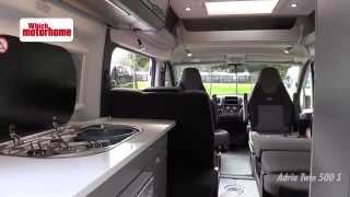 adria twin 500s which motorhome ultimate showdown video review van 1 of 7
