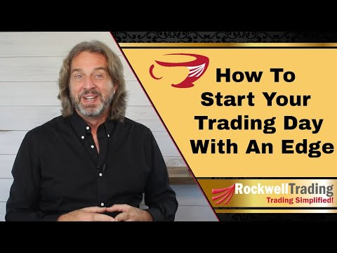 How To Start Your Trading Day With An Edge – Here's My Morning Routine