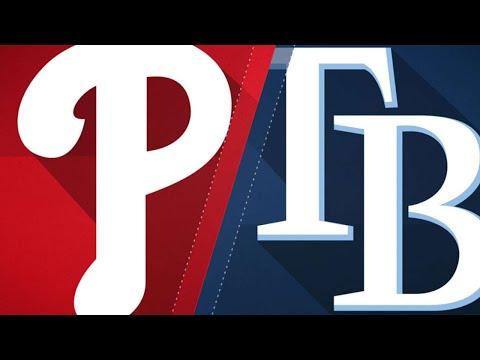 Six-run 2nd inning leads Phillies to 9-4 win: 4/14/18