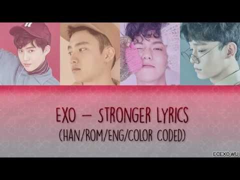 EXO - Stronger Korean Lyrics (Rom/Han/Eng/Color Coded)