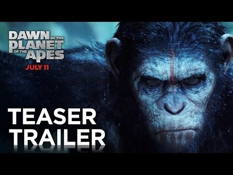 Dawn of the Planet of the Apes | Official Teaser Trailer [HD] | 20th Century FOX