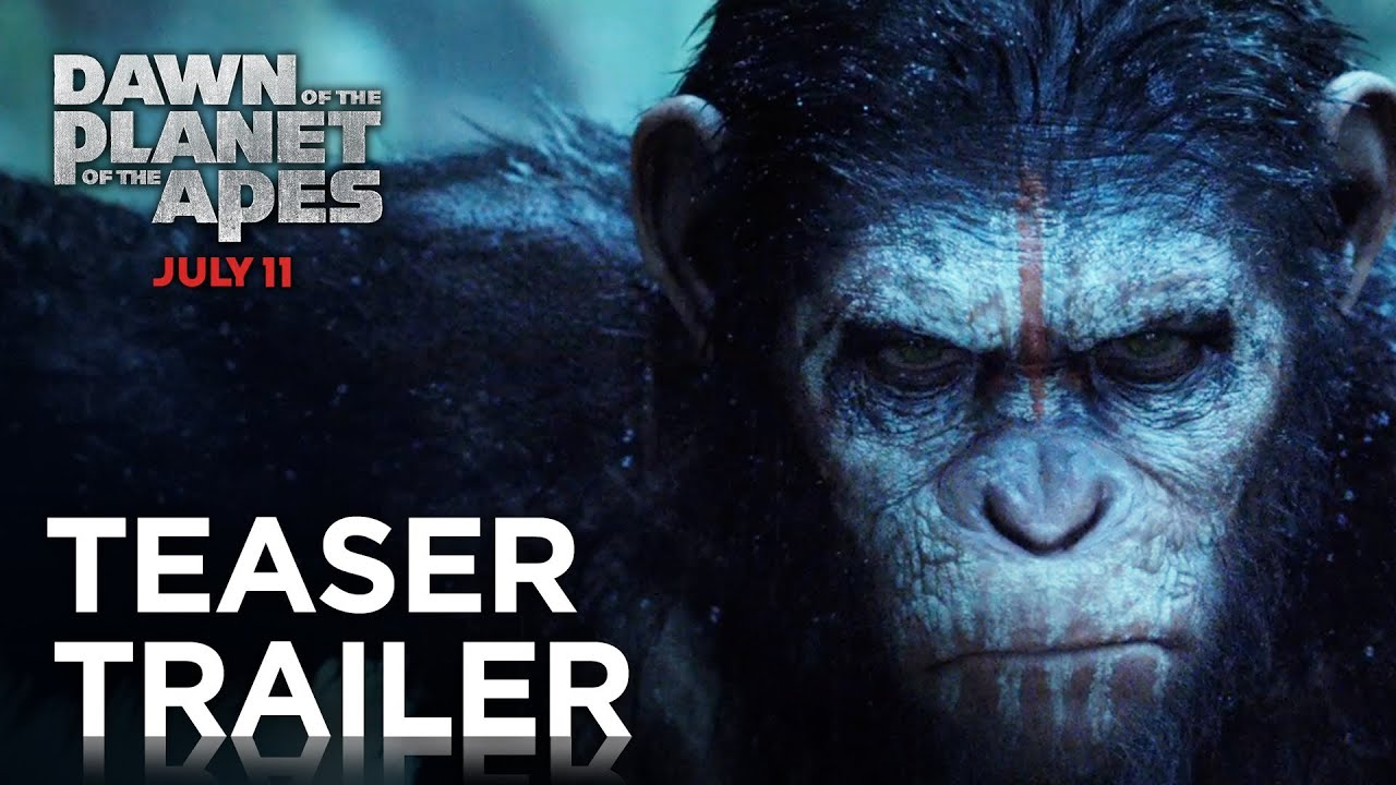 Dawn Of The Planet Of The Apes Official Teaser Trailer Hd Planet Of The Apes Youtube