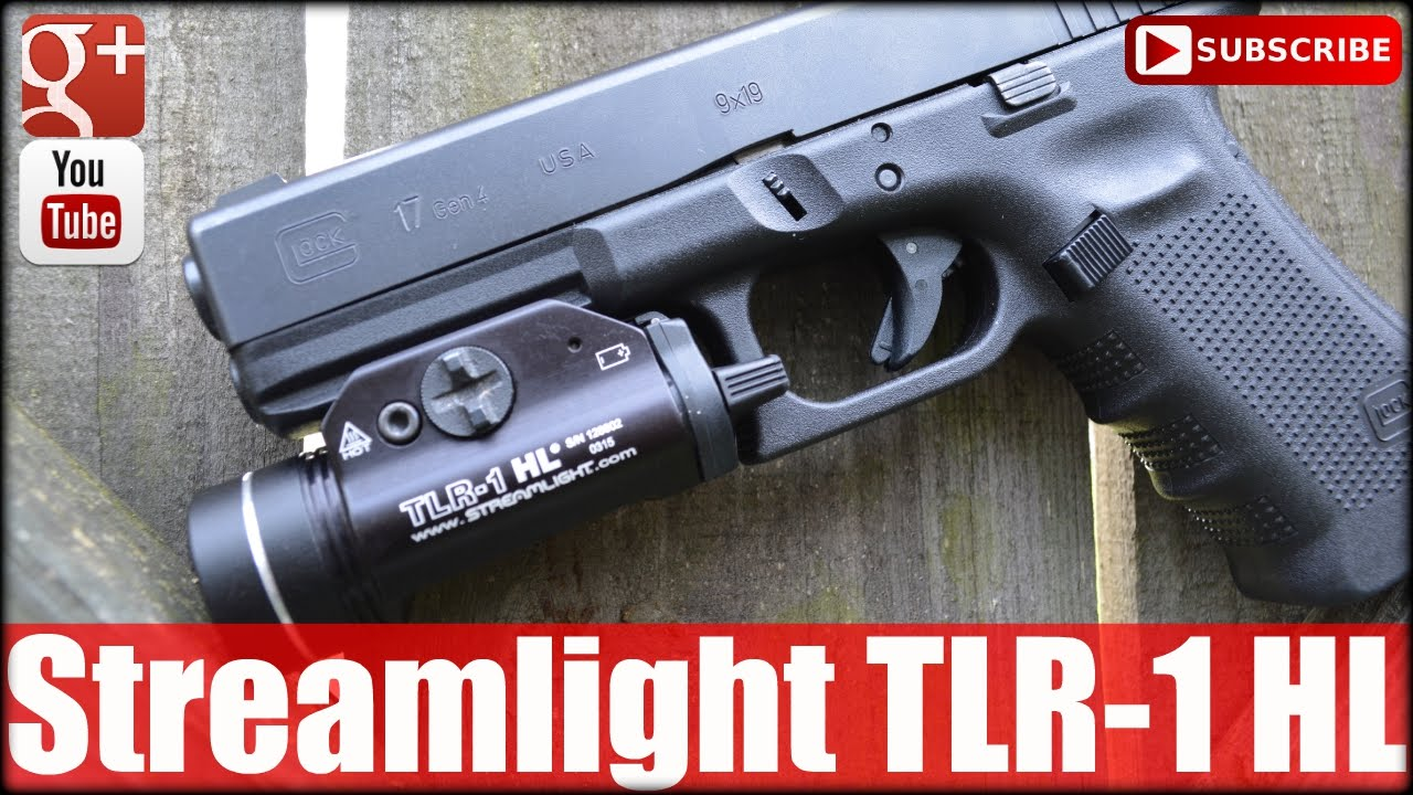 Streamlight 69260 tlr 1 hl review