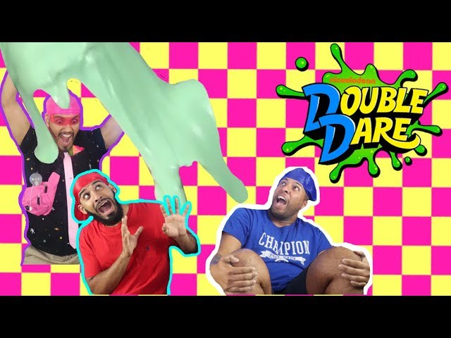 NICKELODEON DOUBLE DARE | EPISODE 1 | WHO GETS SLIMED? (PARODY!)