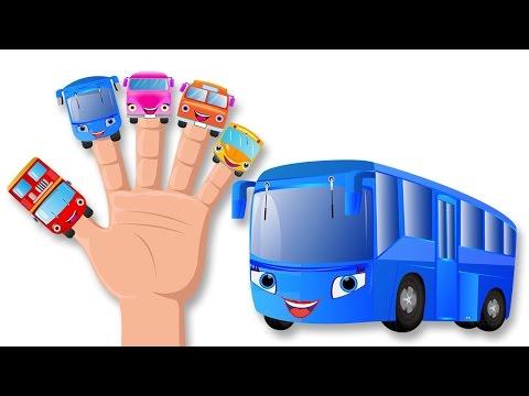 Bus dedo canción familia | Canciones infantiles | Familia de los dedos del autobús para niños