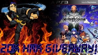 HMK 20K Special! - Kingdom Hearts HD 2.5 ReMIX Giveaway!