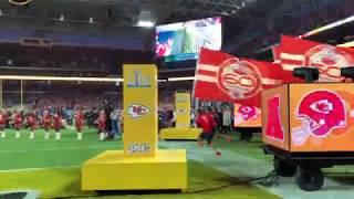 Kansas City Chiefs Introduction at Super Bowl 54