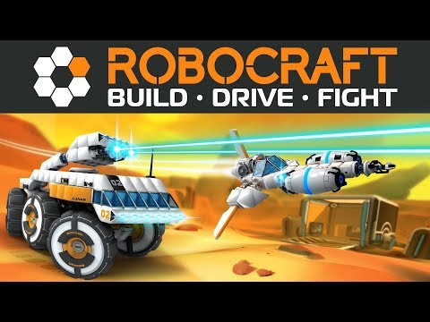 Let's Robocraft Episode #1: The fundamentals of Build, Drive and Fight.