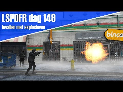 GTA 5 lspdfr dag 149 - AT doet invallen met explosieven!