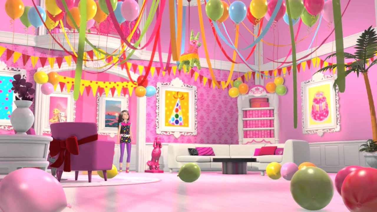 Beach Decorations For Home Barbie Life In The Dreamhouse Happy Birthday Chelsea