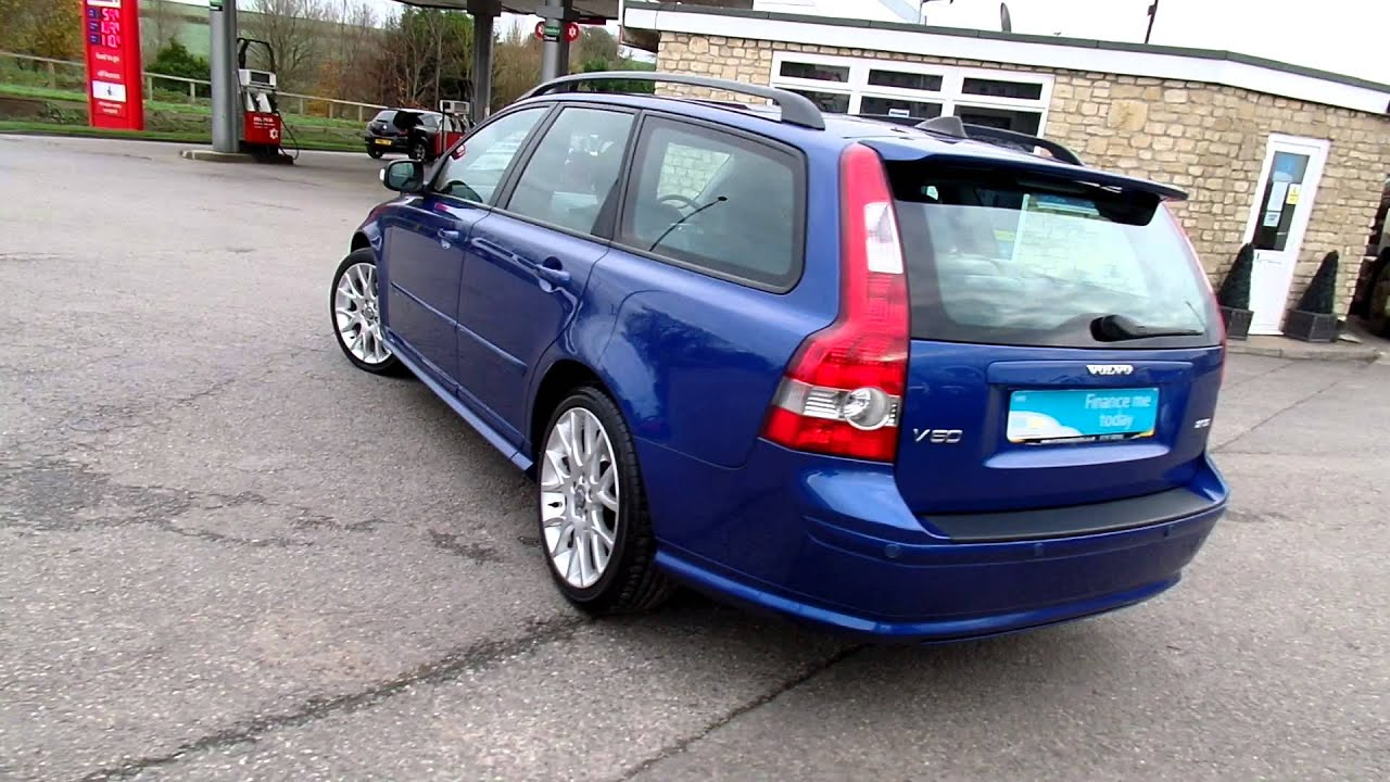 2007 Volvo V50 2.0 D SE Sport ESTATE For Sale @ www ...