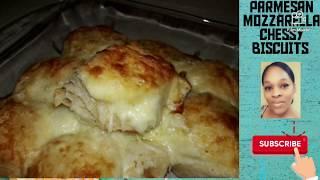 Mozzarella Parmesan Biscuits: #chessy #easyrecipes #Grands!#trending #Pillsbury #parisart88