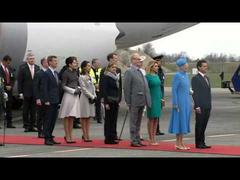 Mexican State Visit to Denmark - Welcome.