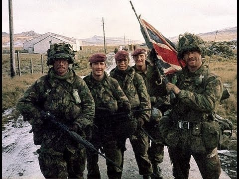 Falklands War - Real Combat footage 1982