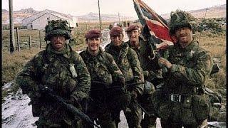 Falklands War - Real Combat footage 1982