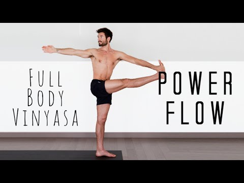 Total Body Burn Power Yoga Workout Flow  | Yoga With Tim