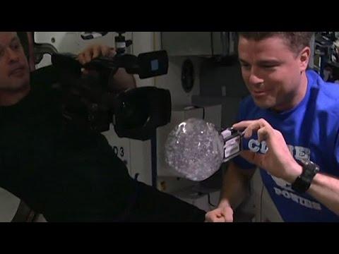 Resultado de imagem para Agua dos astronautas