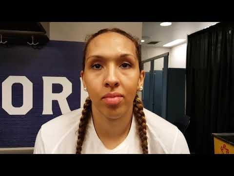 Mercedes Russell post-game vs. South Carolina
