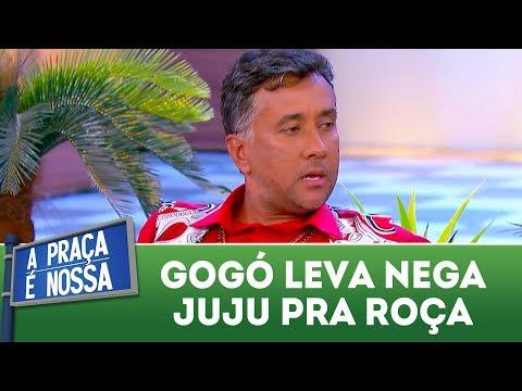 Gogó leva Nega Juju pra roça | A Praça É Nossa (22/03/18)