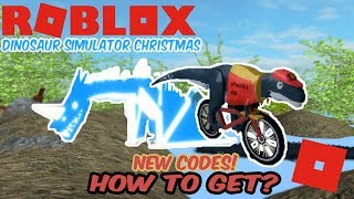 Roblox Dinosaur Simulator Christmas - How to Get Pizza Delivery Mapusaurus and Wyvern! NEW CODES!