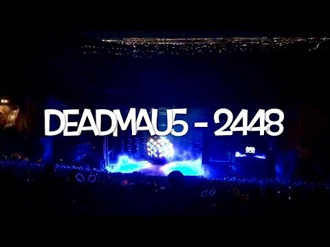 deadmau5 - 2448 - Red Rocks - Morrison, CO - October 20th, 2017