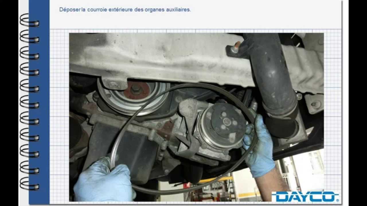 Montage kit de distribution  Fiat Ducato 120 MJT Diesel