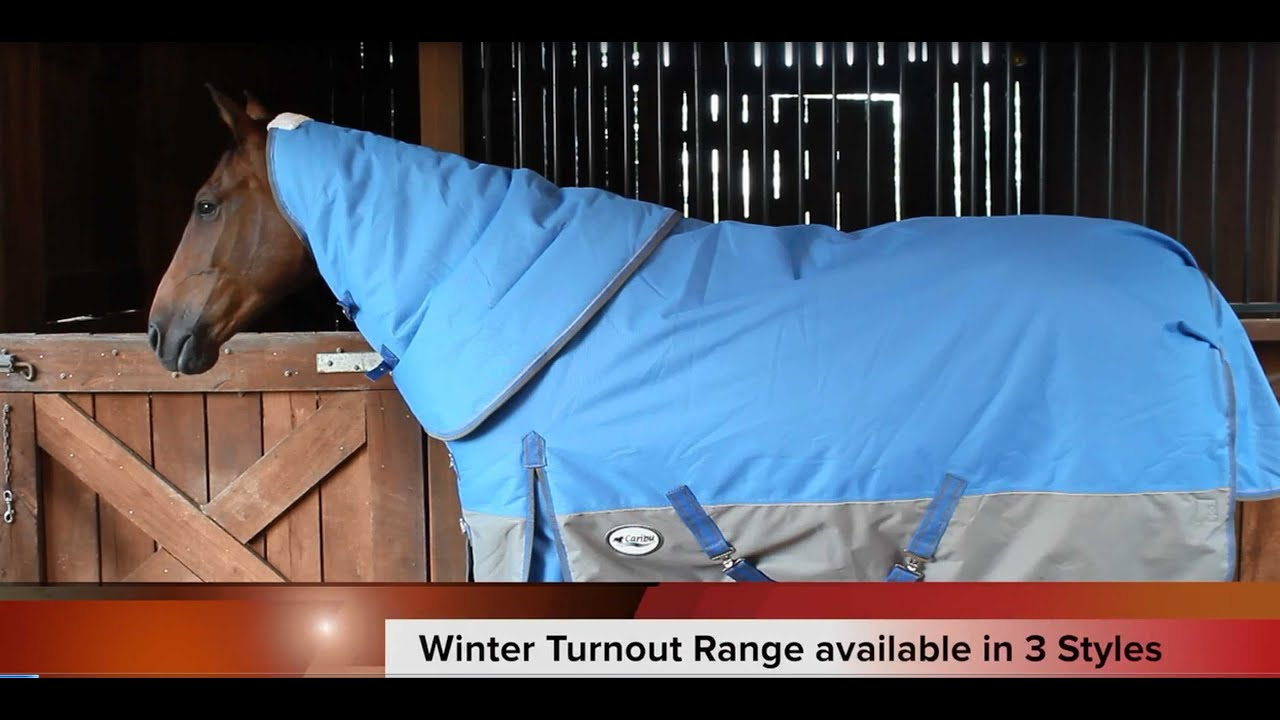 Caribu 1200d Winter Turnout Horse Rug Overview
