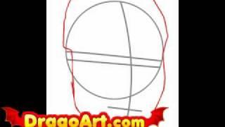 How to draw Jason Derulo, step by step