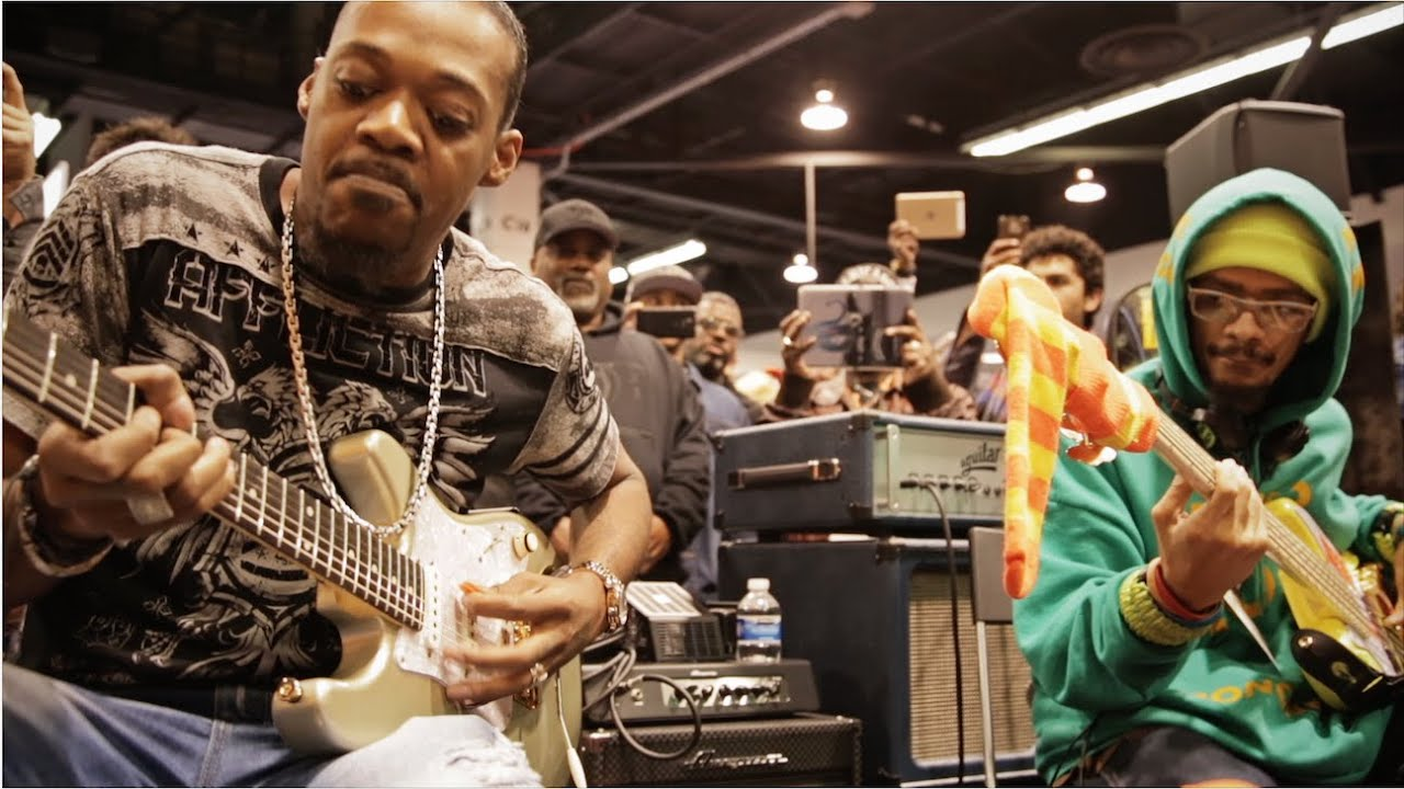 Eric Gales & Mono Neon | Live At The Dunlop Booth | NAMM