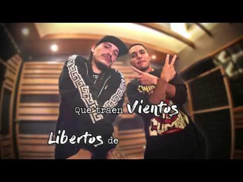 Santaferia - Voluntad Heredada ft. Portavoz - Video Lyric (En El Ojo del Huracán)