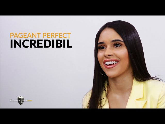 Pageant Perfect Incredibil ™ Smile Makeover w / No Dentist Dental Facers par Brighter Image Lab