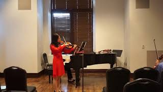 Viola Concerto In D Major OP1 1st Movement by Amanda Sun