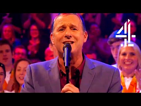 Adam Hills Sings For All The GB Paralympians | The Last Leg