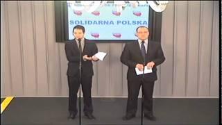 21.02.2012 Solidarna Polska - Nowe prawo telekomunikacyjne, czyli rząd szykuje ACTA 2