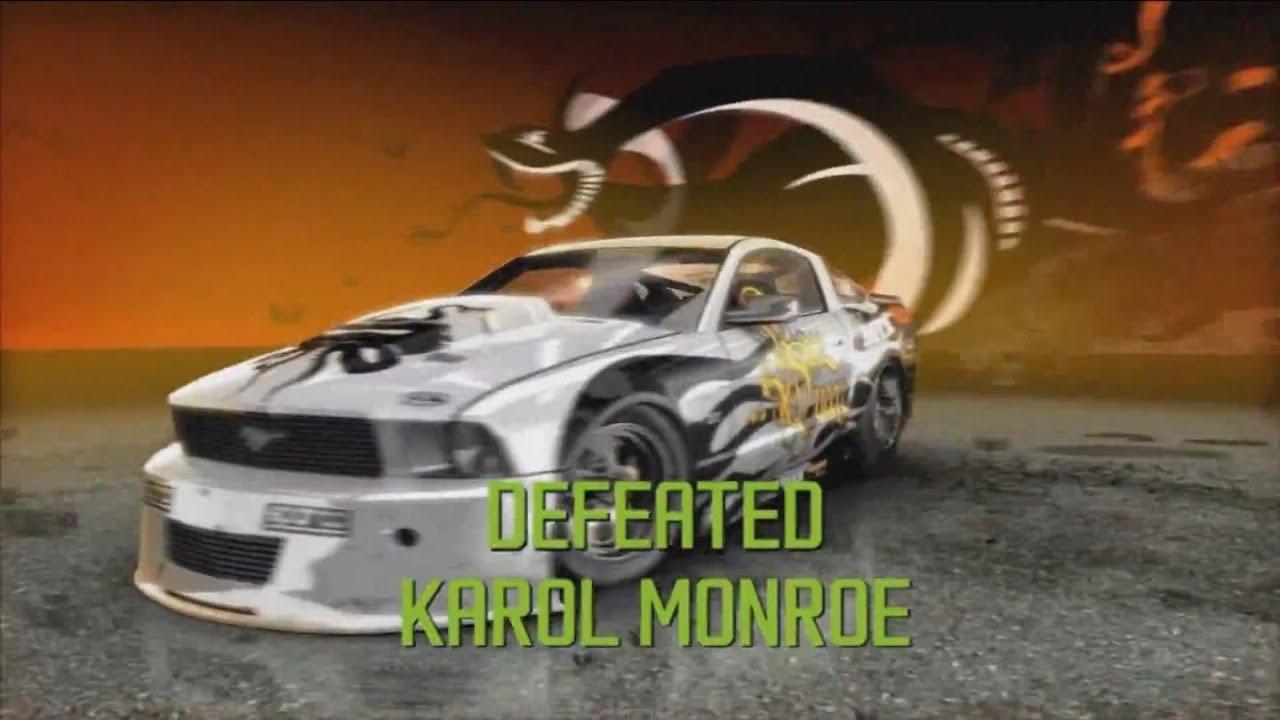 Need for speed prostreet defeating karol monroe drag king youtube
