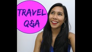 Travel Q&A - Travel with Arianne