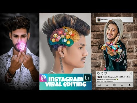 Instagram latest viral concept photo editing I picsart photo editing 2019 I Insta profile photo edit