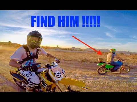 HIDE & SEEK ON DIRT BIKES!!